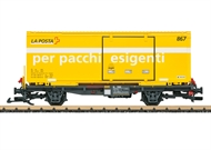 Post Container-Tragwagen RhB